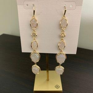 Kendra Scott Iridescent Drusy Byron earrings